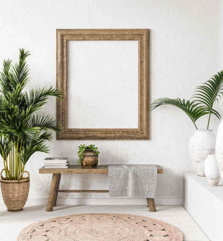 Home Decorating Styles in Rustic Objects