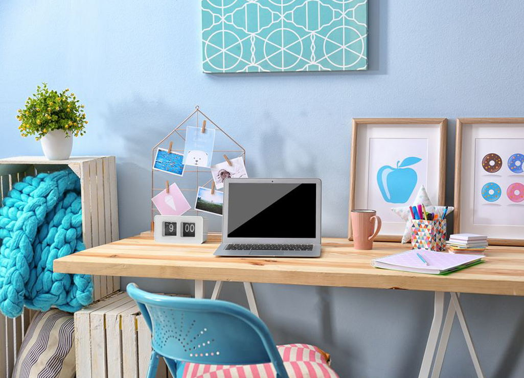 Home Office Ideas With Women's Decor