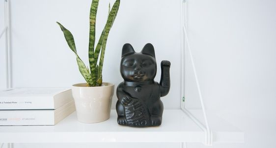 The Home Office Lucky Cat