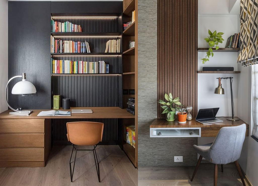 Opt For Neutral Colored Objects That Value Home Office Decor