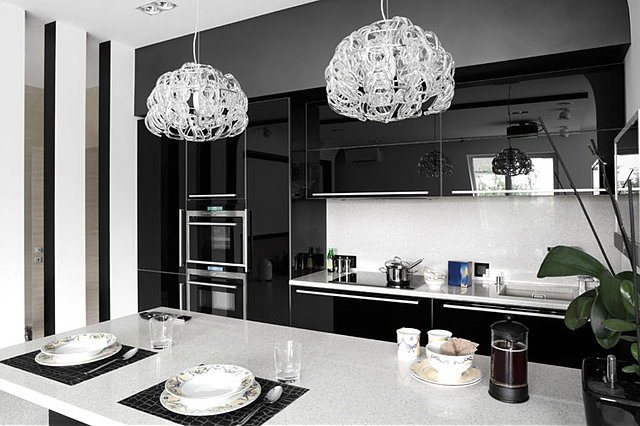 Kitchen Cabinets Black 2
