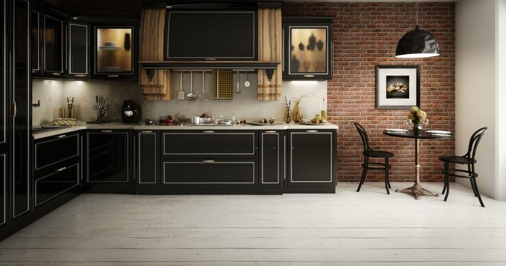 Kitchen Cabinets Black Models