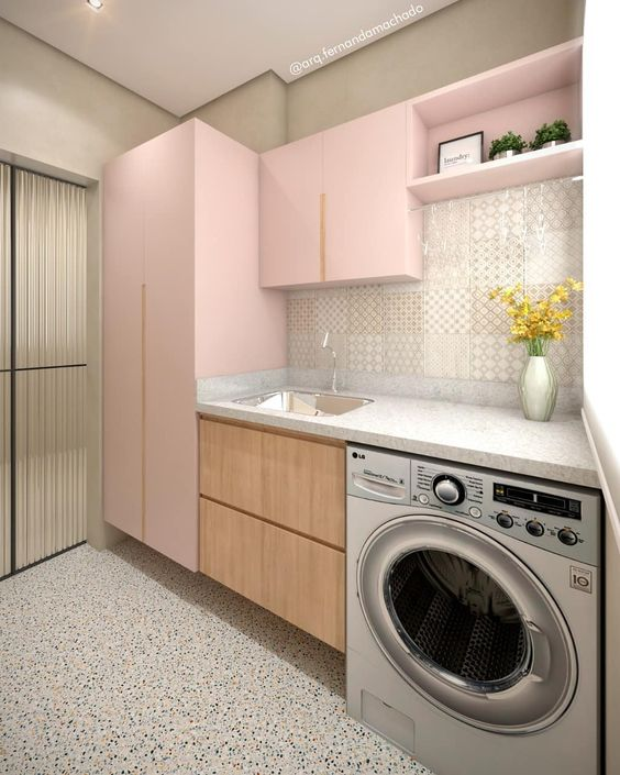 Laundry Room Ideas Decor Integrating With The Kitchen