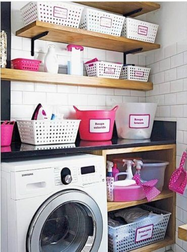 Laundry Room Ideas Storage With Sectorization