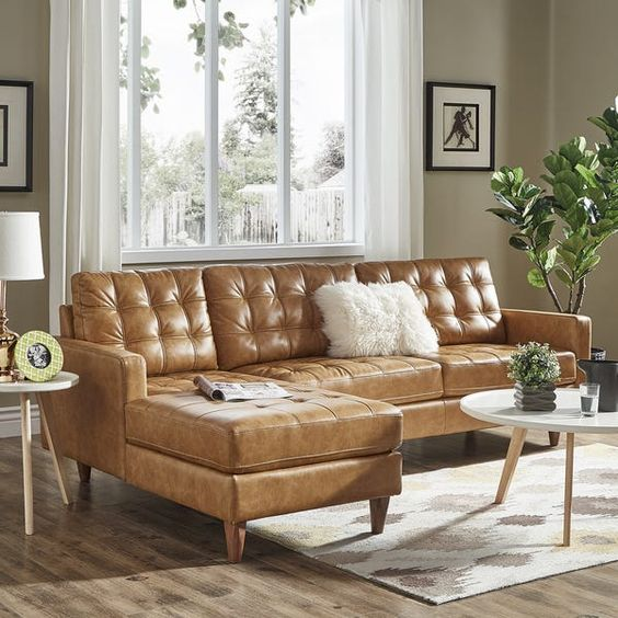 Leather Sofa Recliner With Chaise