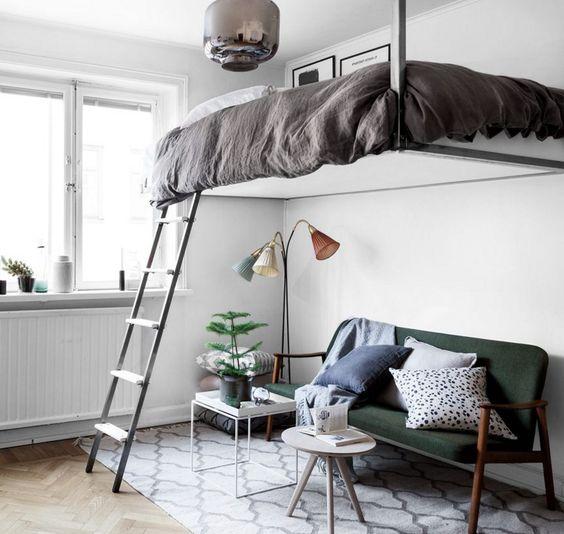 Floating Loft Bed