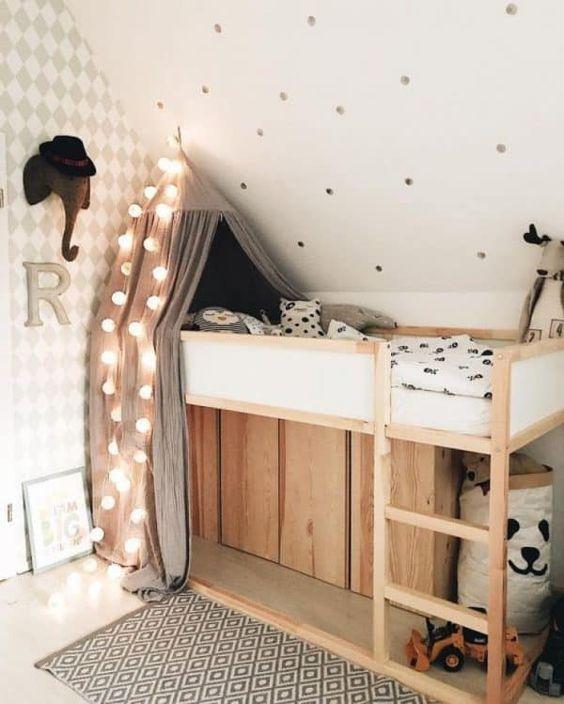 Loft Bed in Children's Room