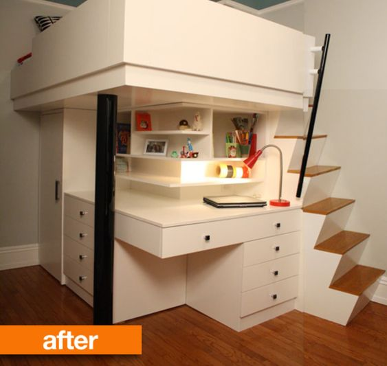 Loft Bed All in One