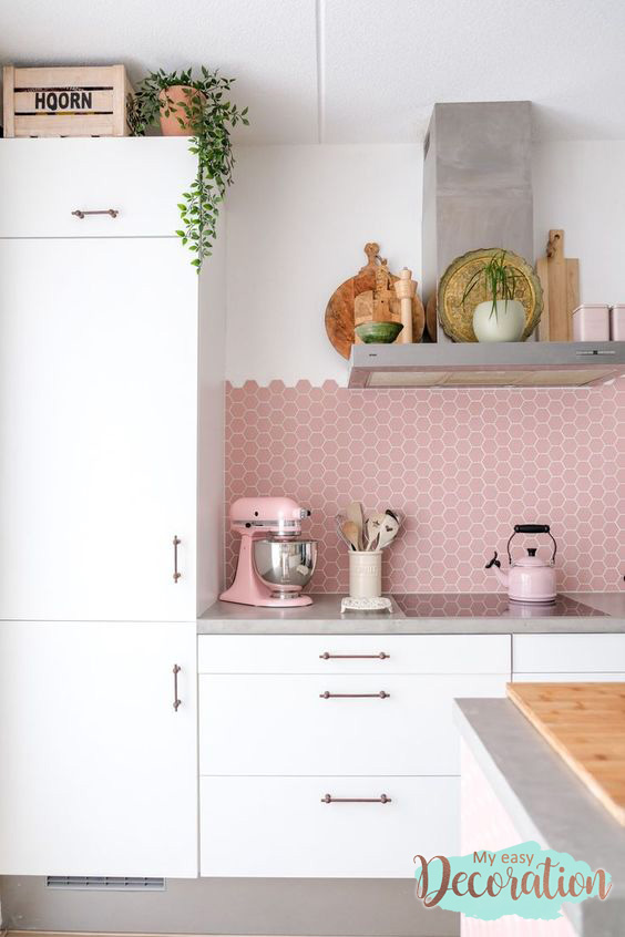 Candy Color Brings Freshness To The Decor