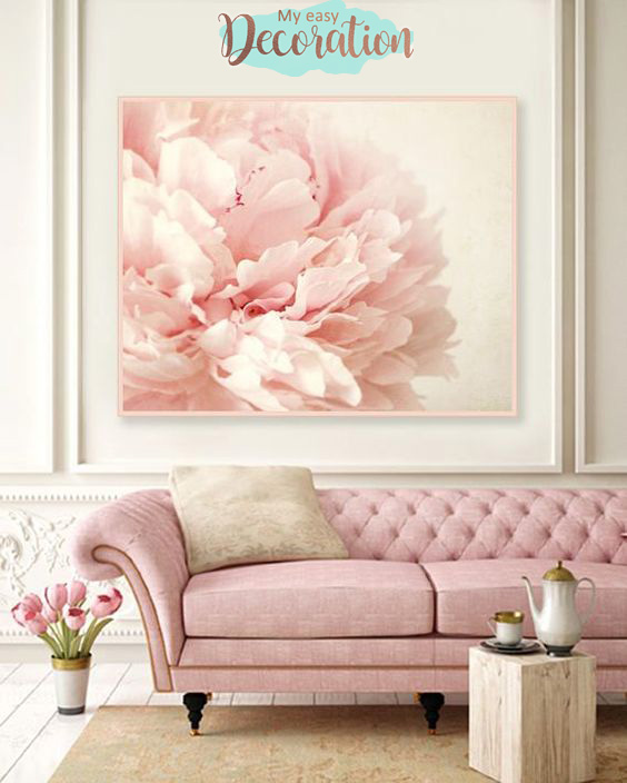 Millennial Pink In The Living Room