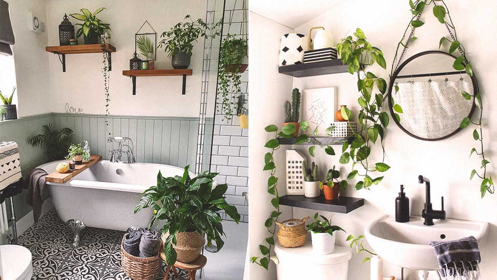 How To Decorate A Mystical Bathroom
