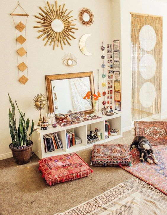 How to Decorate With Mystical Living Room 2