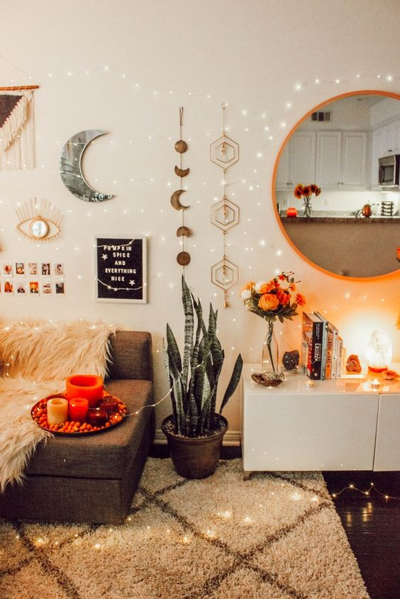 How to Decorate With Mystical Living Room