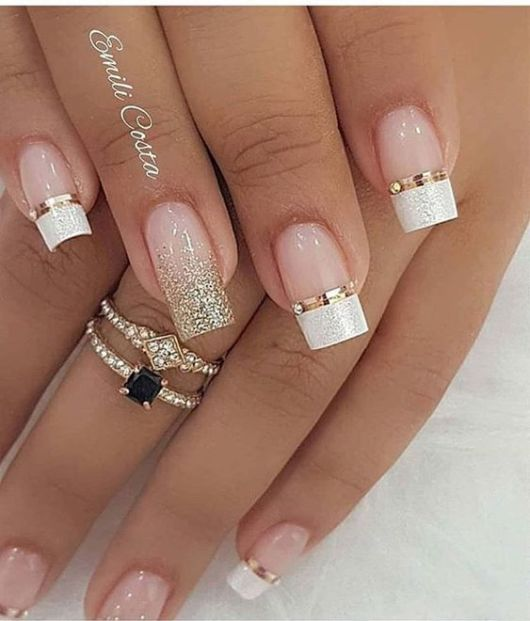 Colored French Nail