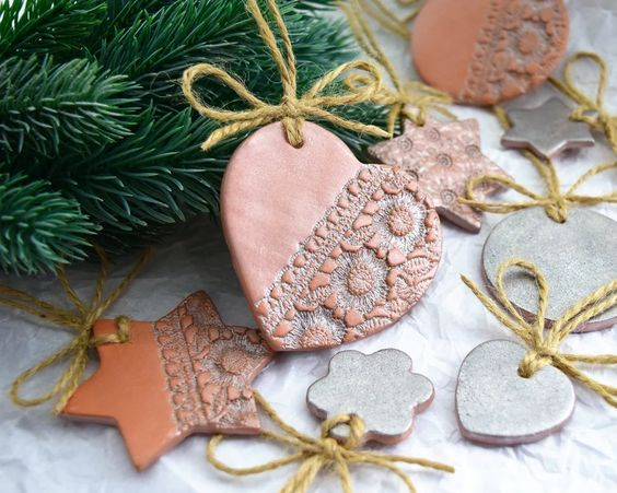 Handcrafted Ornaments For Christmas Tree