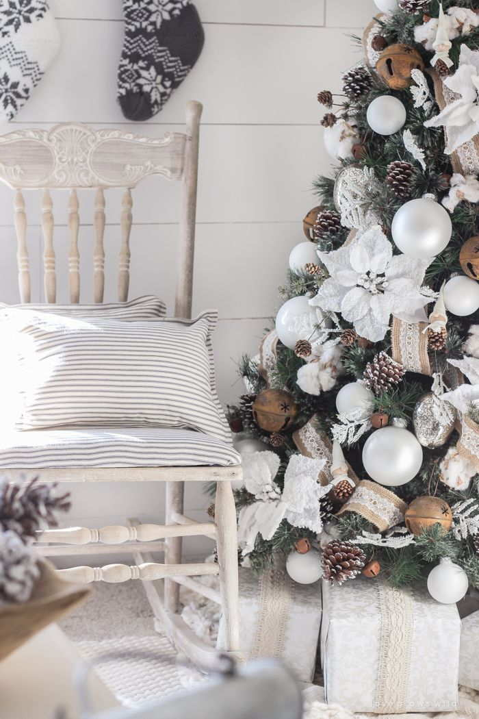 Ornaments For Christmas Tree With Off White Trend