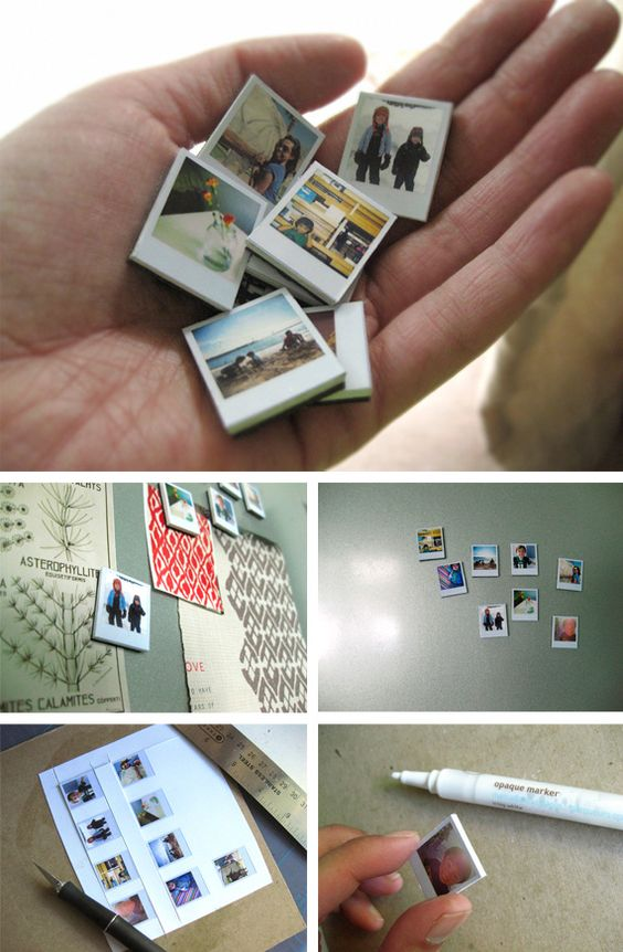 Ornaments With Photo Magnets
