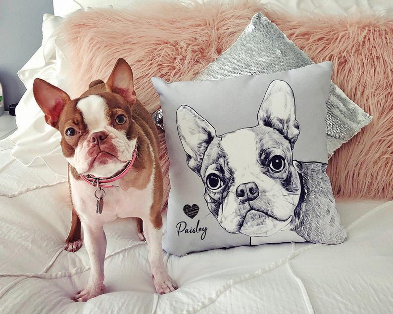 Personalized Ornaments In Pillow