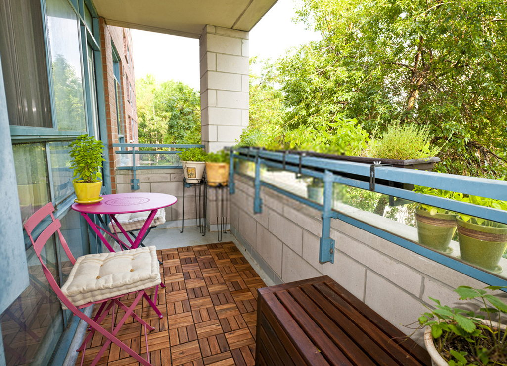 Outdoor Furniture in Small Spaces