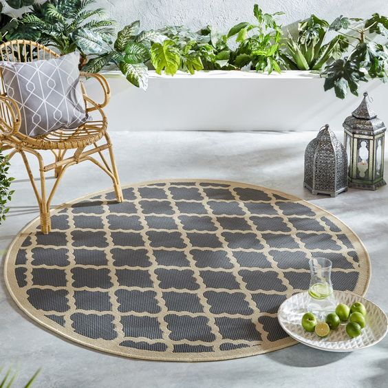 The Charm of Outdoor Rugs Round