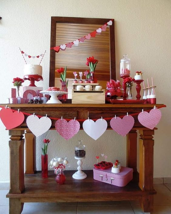 Party Decoration For Valentine's Day