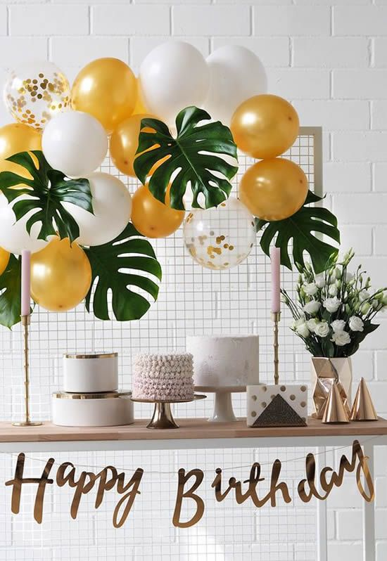 Simple Party Decoration Tricks That Are Trends
