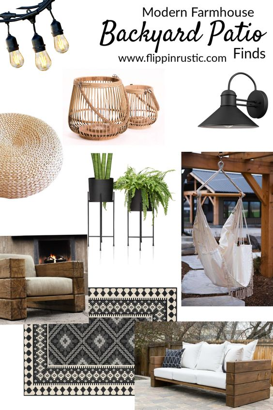 Patio Ideas In Rustic Style