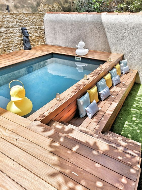 Small Patio Ideas With Pool