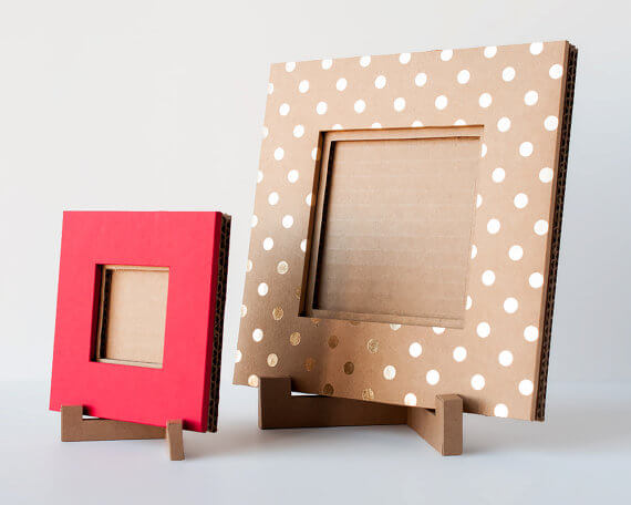 Picture Frames Using Cardboard
