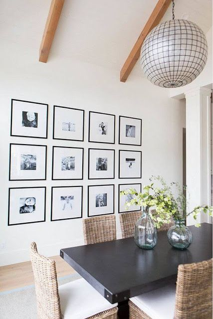 Picture Frames In Dining Room