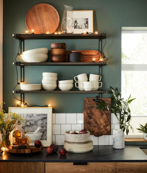 Trendy Picture Frames In The Kitchen