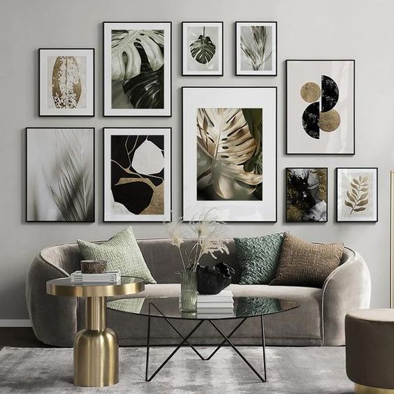Picture Frames In Living Room