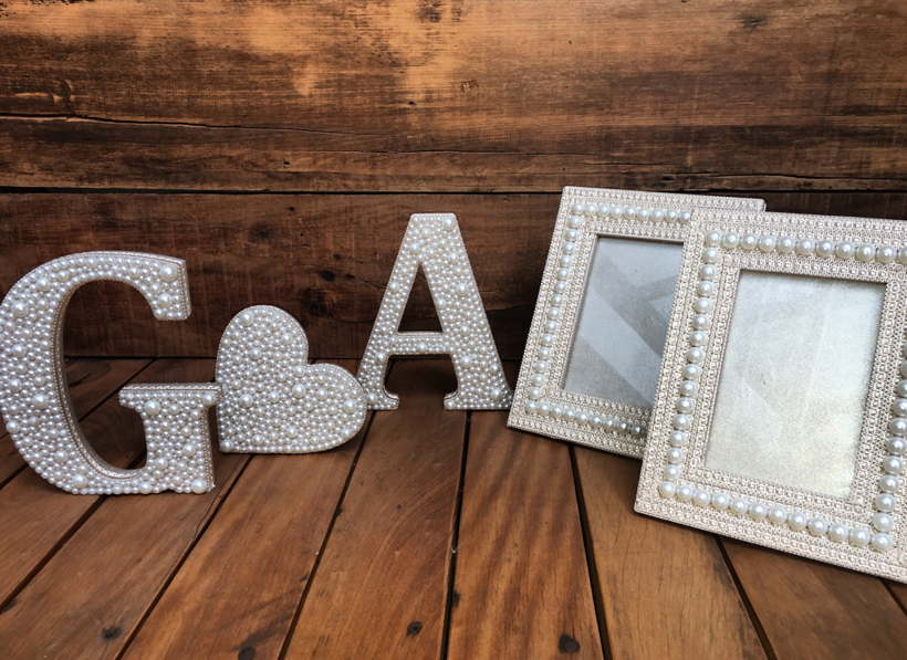 Picture Frames With Stones