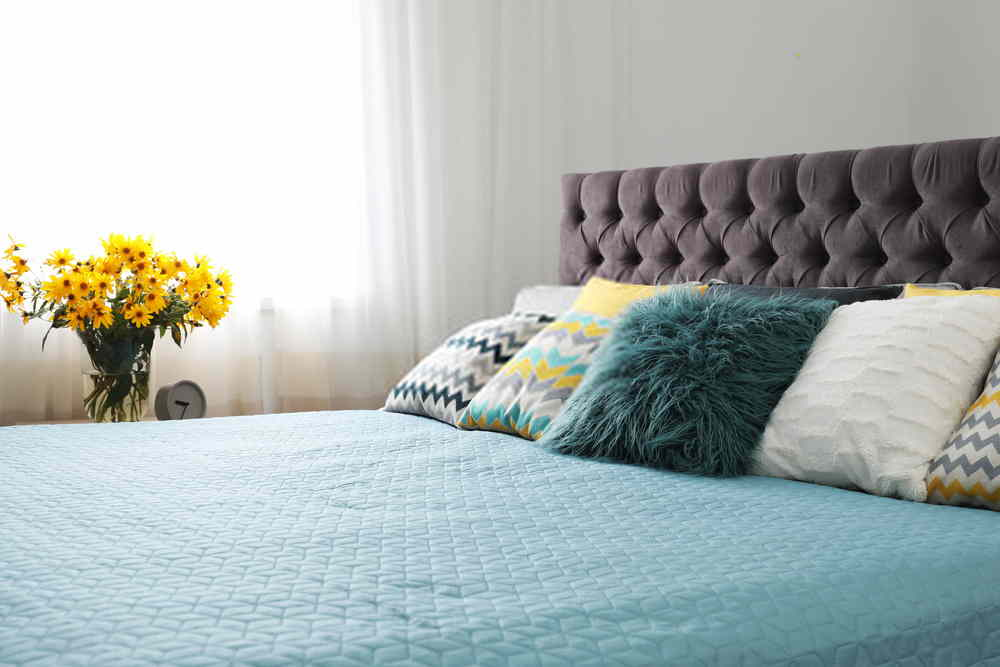Pillow Decoration For Double Bed