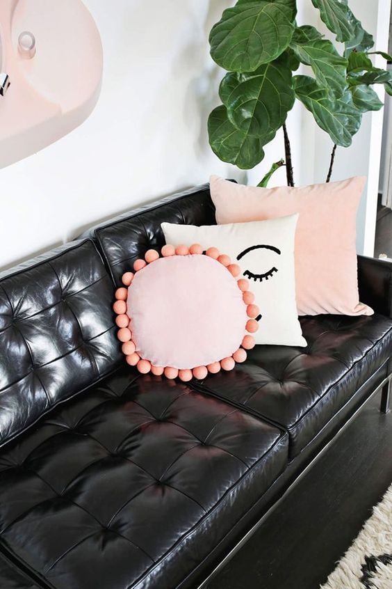 Pillow Decoration for Sofa with Maxi Prints