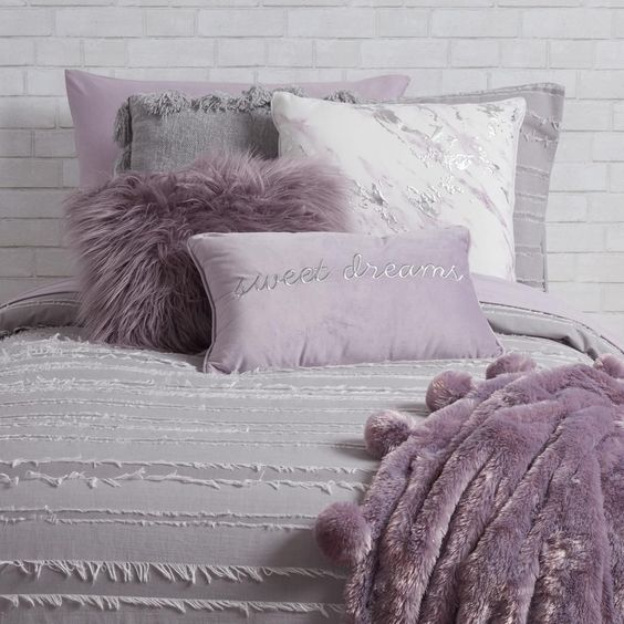 Pillow Decoration Purple
