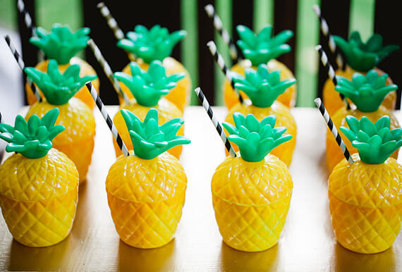 Ceramic Pineapple at the Party