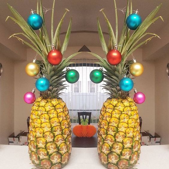 Pineapple in Christmas Tree Place