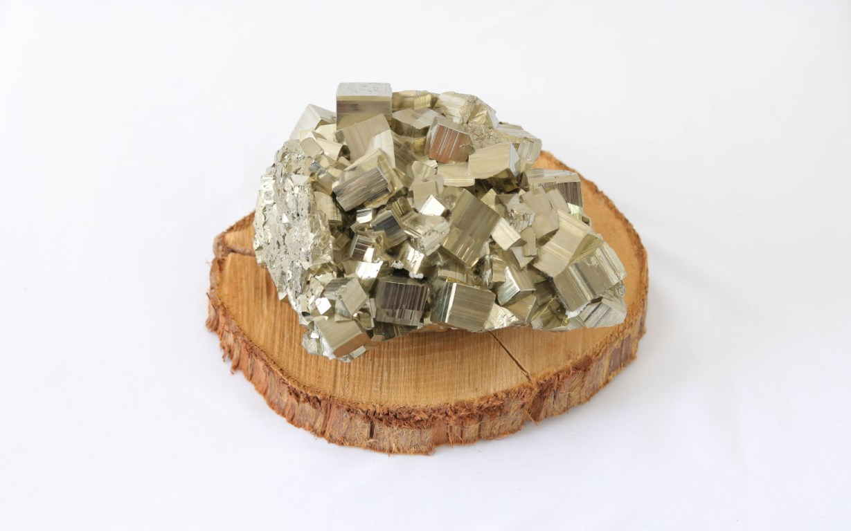 5. The Prosperity Crystals Pyrite