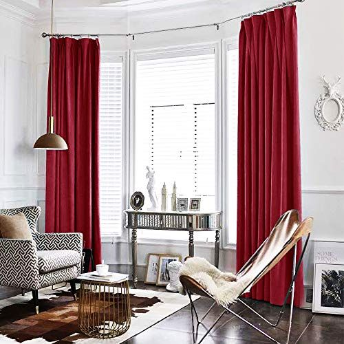 Red Room Curtain