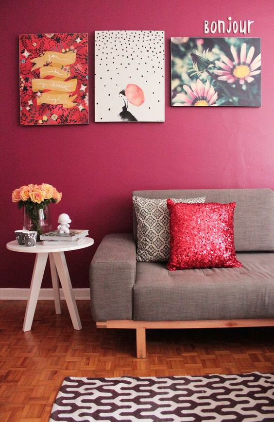 Red Room Wall