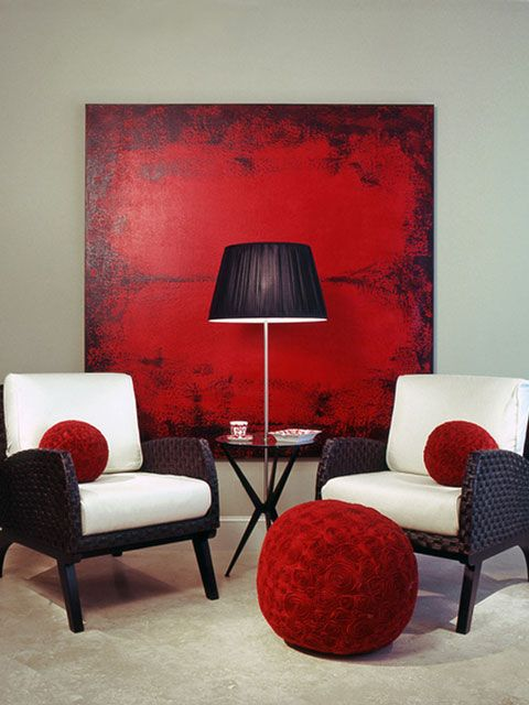 Red Room White Furniture 2