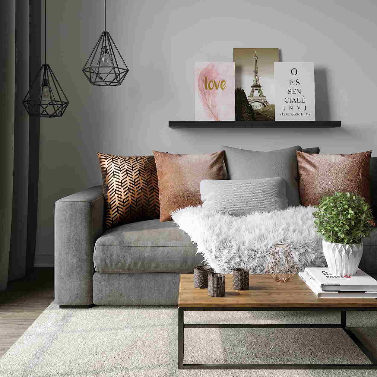 Adapt the Color to your Decoration Concept
