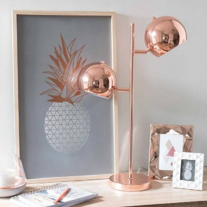 Rose Gold Table Lamps