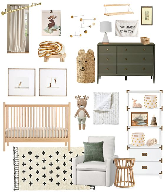 How To Decorate A Scandinavian Baby Room?
