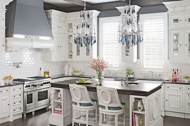 The Romanticism Of Shabby Chic In The Kitchen