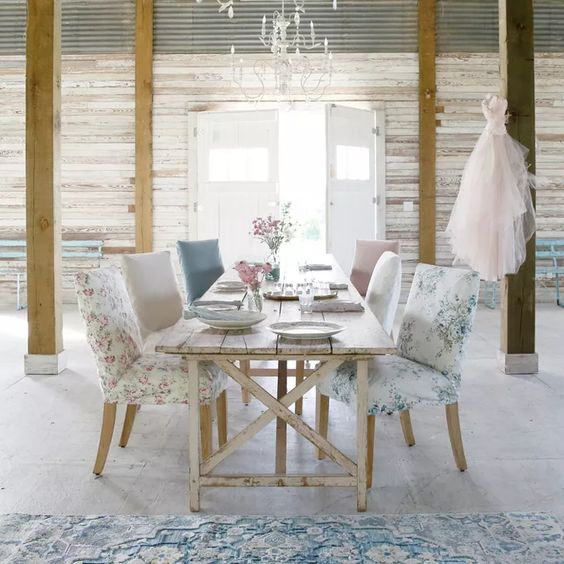 The Shabby Chic Mix Of Styles