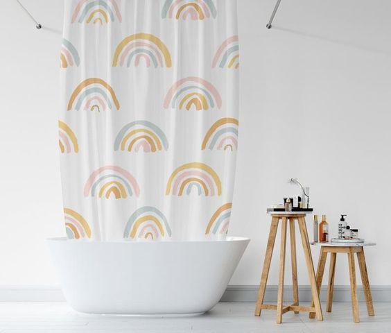 Fabrics For Boho Shower Curtains