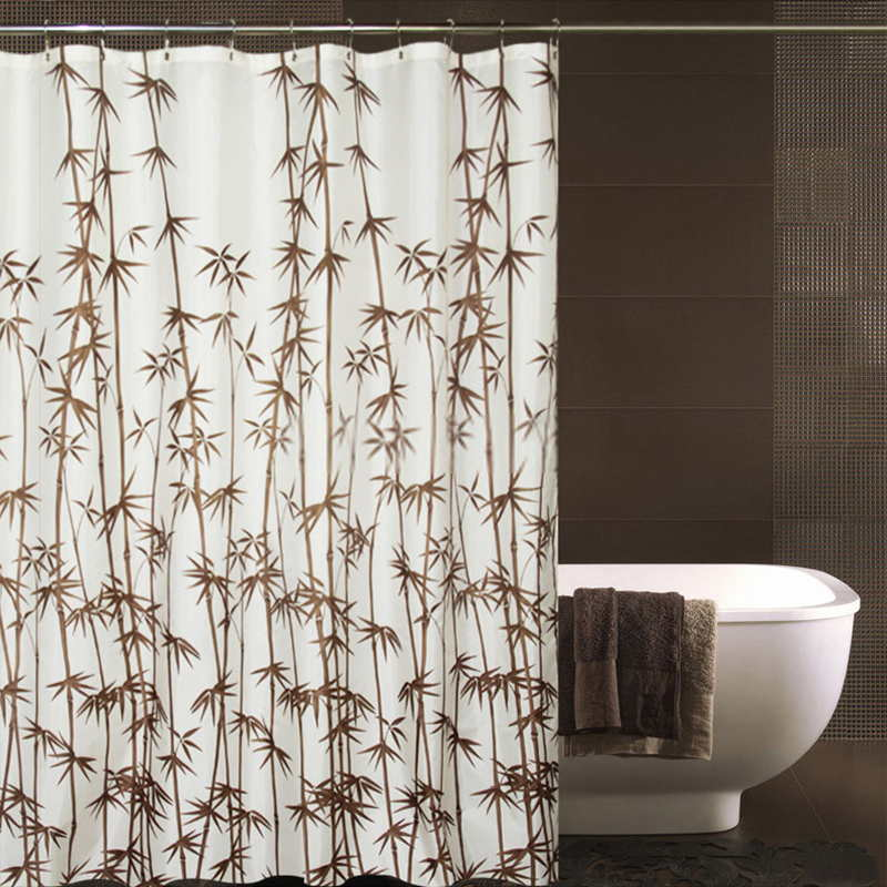 The power of rustic bamboo shower curtains
