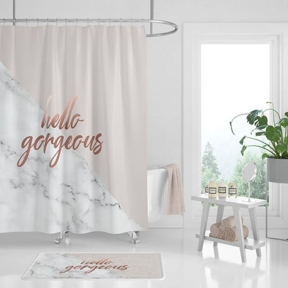 Most Desired Shower Curtains Colors, Prints, and Models of this Year